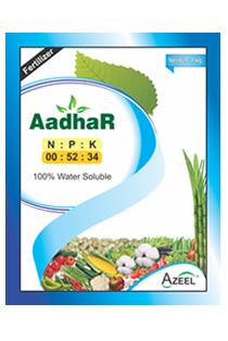 AadhaR NPK 00 52 34